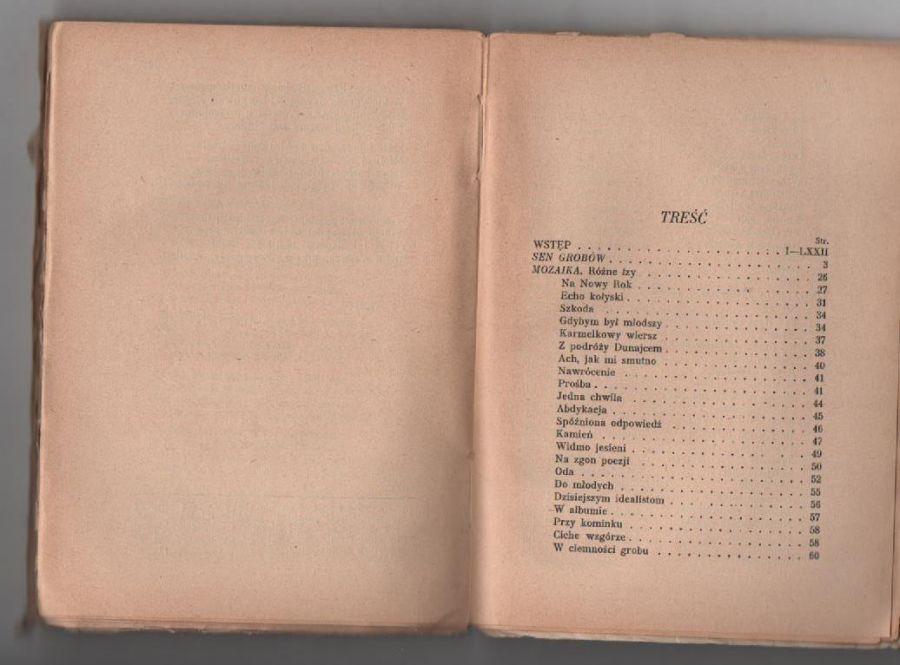 Asnyk A Wybór Poezyj Bn Antykwariat Galicja